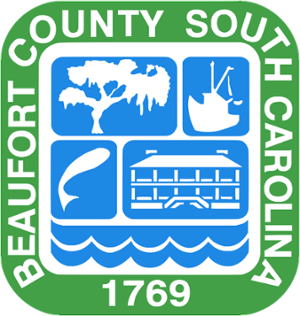 Beaufort County Seal, Beaufort County, South Carolina - Established 1769