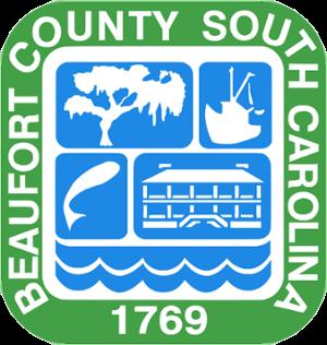 Beaufort County Seal, Beaufort County, South Carolina - Established 1769